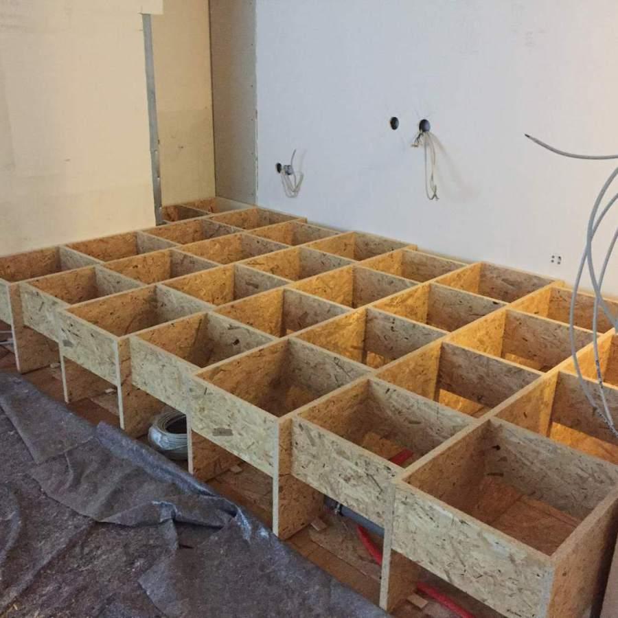 Ladeneinrichtung München: Bodenerhöhung bauen