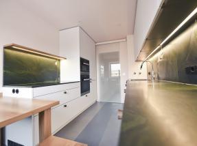 Neues Küchenprojekt in München Green Mamba
