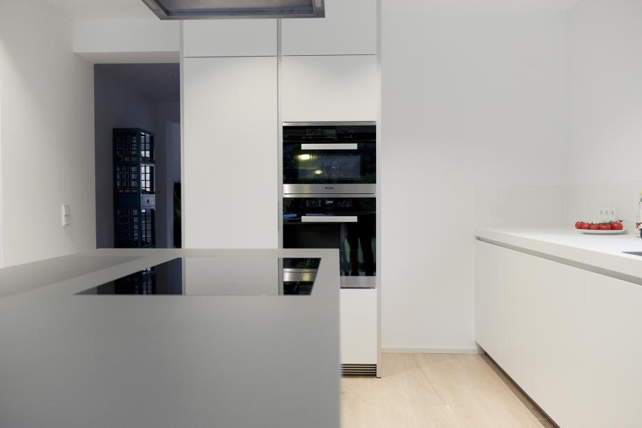 Moderne Küche in moderner Frische