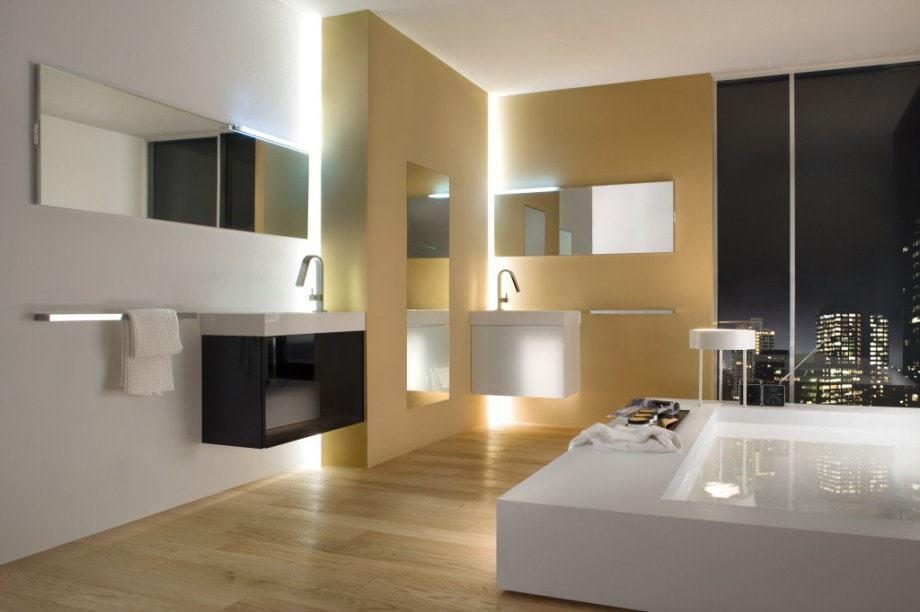Individuelle Lichtplanung für das Badezimmer