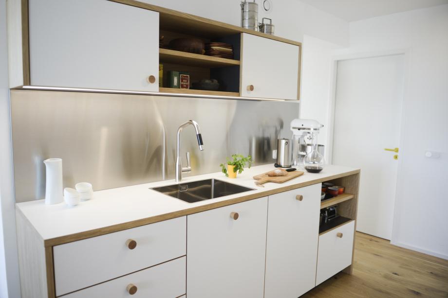 skandinavische Küchenzeile